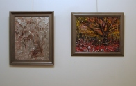 'My Tree of Life' (left) & 'The Sorrow Tree' by Billy Hedel